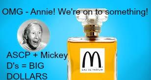 mcdonalds perfume
