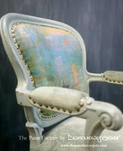 Monets armchair