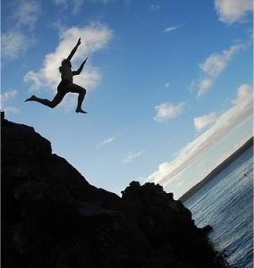 jumpingOffCliff
