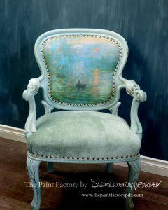 monets armchair2