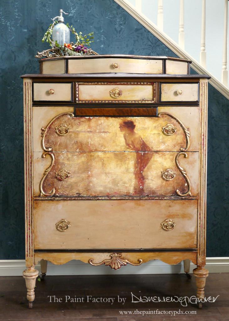 Vintage Depression Era Dresser Sold The Paint Factory