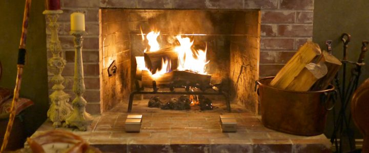 The New Look Of A Traditional Fireplace.